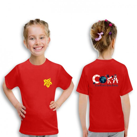 P8CT01 Yuvarlak Yaka Kısa Kol T-Shirt