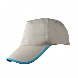 P8303 Renkli Biyeli Şapka