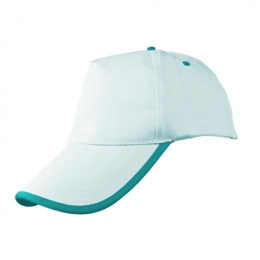 P8304 Renkli Biyeli Şapka