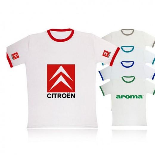 P8RYakalıT Renkli Yuvarlak Yaka Kısa Kol T-Shirt